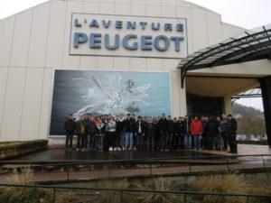 Sortie à Sochaux pour les classes de la filière industrielle